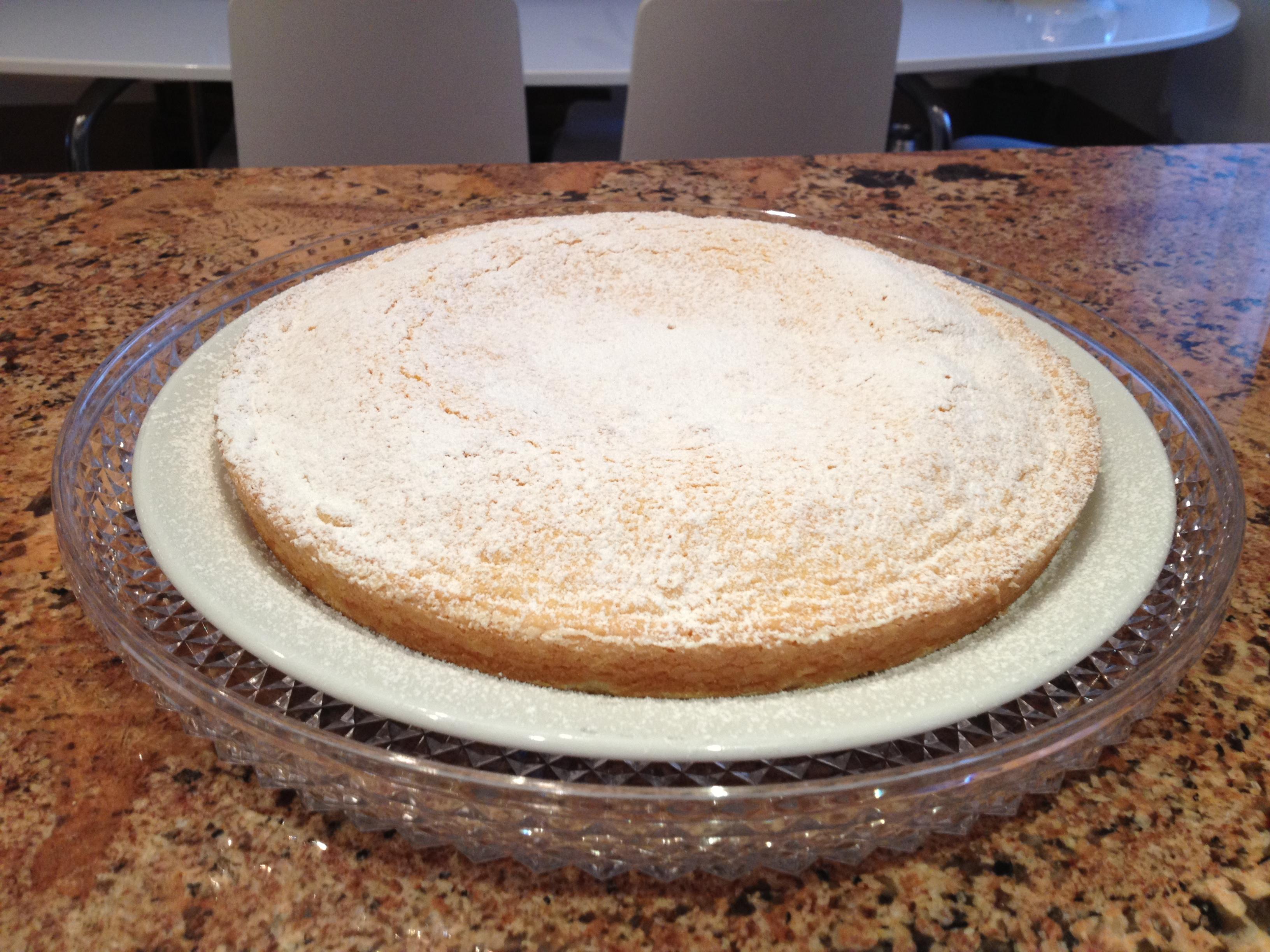 Torta Paradisiaca o Sabbiosa