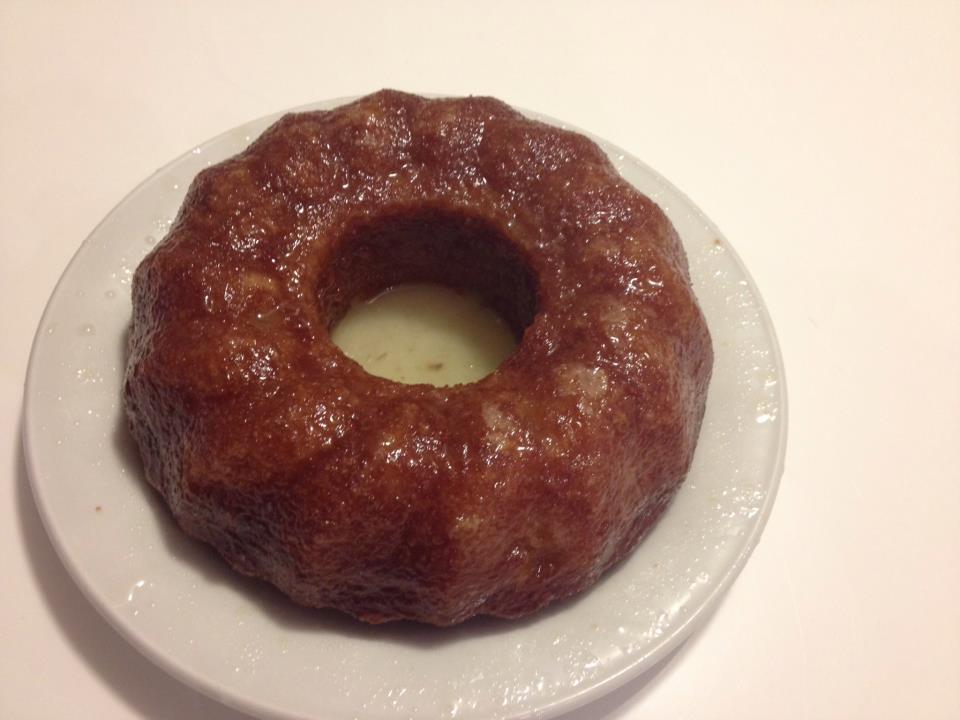 Plum cake senza glutine al limone
